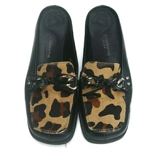 Liz Claiborne Fulton Loafers Leopard Print Hair